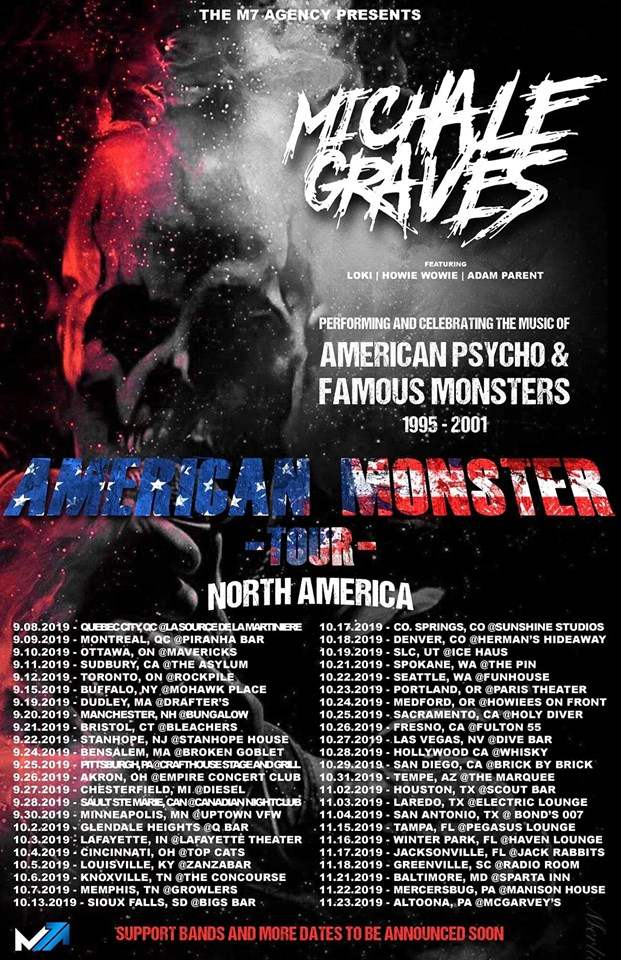 Michale Graves - American Monster Tour live in Sudbury