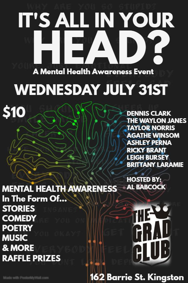 It's All In Your Head? A Mental Health Awareness Event