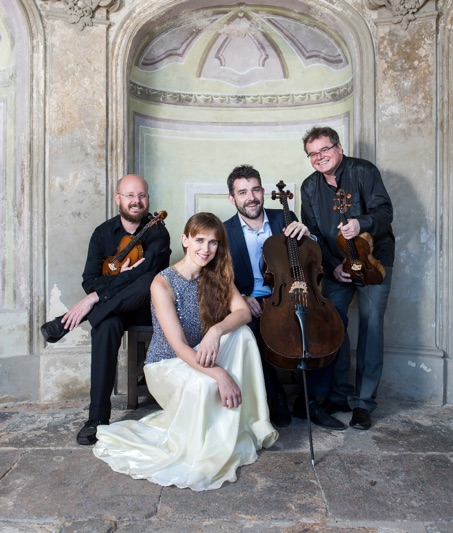 The Dvorak Piano Quartet from Prague