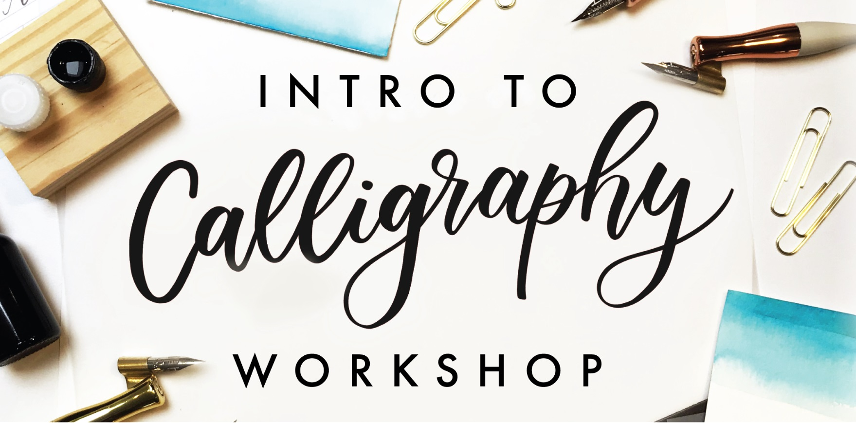 Indigo Presents: Pointed Pen Calligraphy Workshop