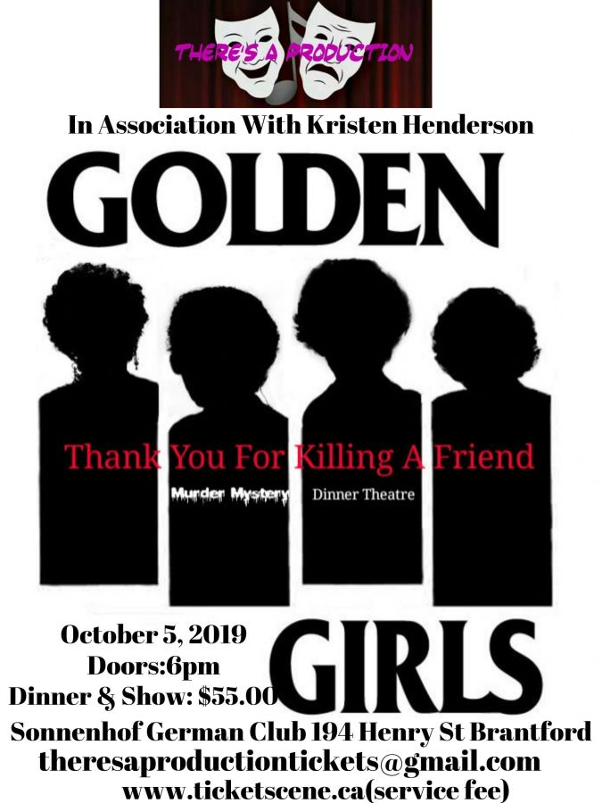 Golden Girls Murder Mystery Dinner Theatre