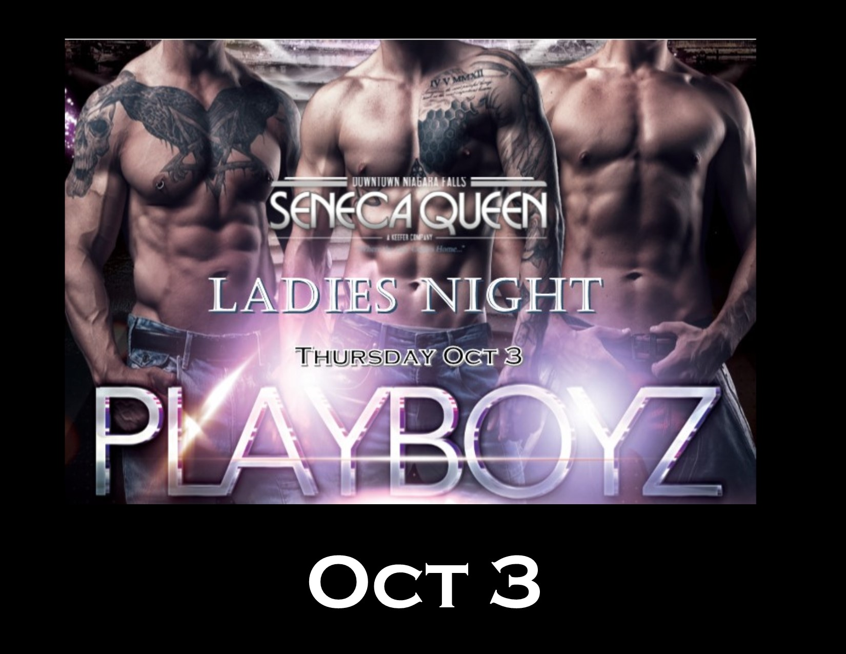 Ladies Night - Canadian Playboyz - Dance Revue