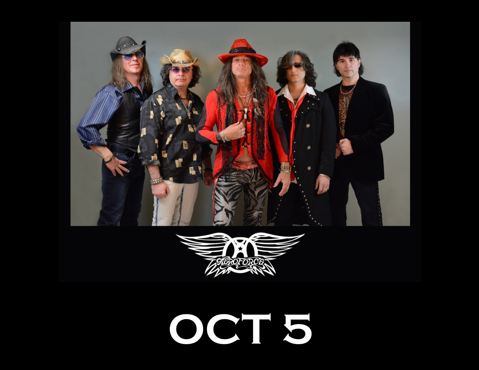 AEROFORCE - Canada's Aerosmith's Tribute show