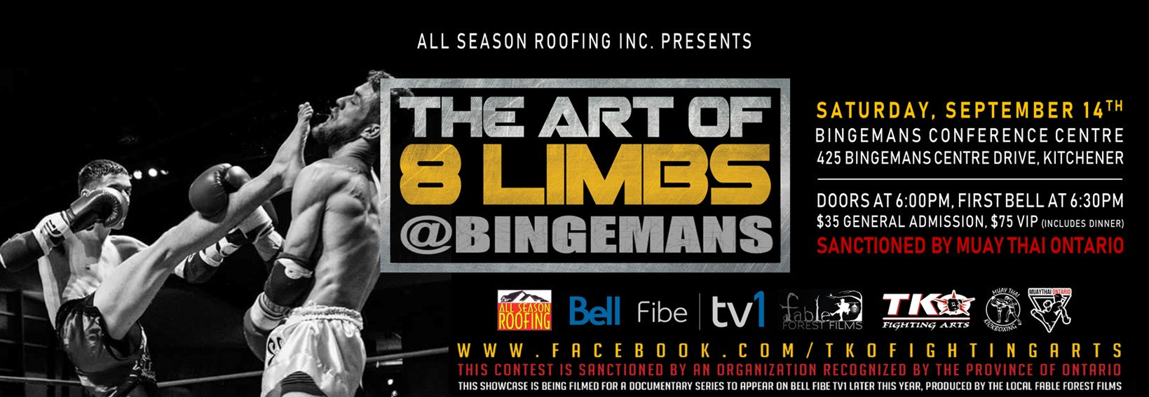 Art of 8 Limbs @Bingemans