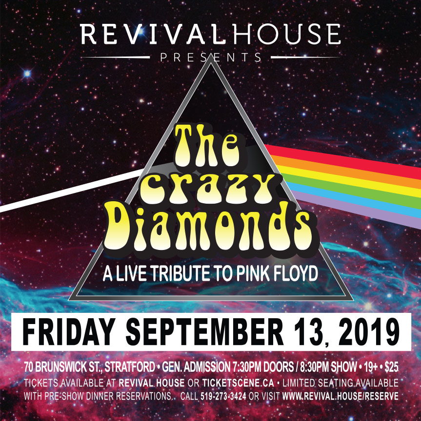 The Crazy Diamonds LIVE Tribute to Pink Floyd