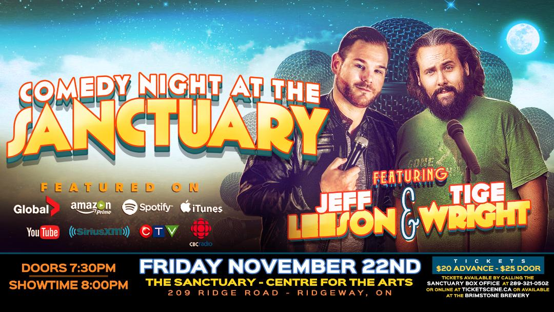 Comedy Night at The Sanctuary