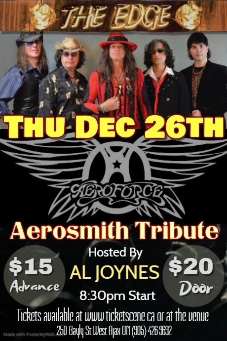 AEROFORCE (Aerosmith Tribute)