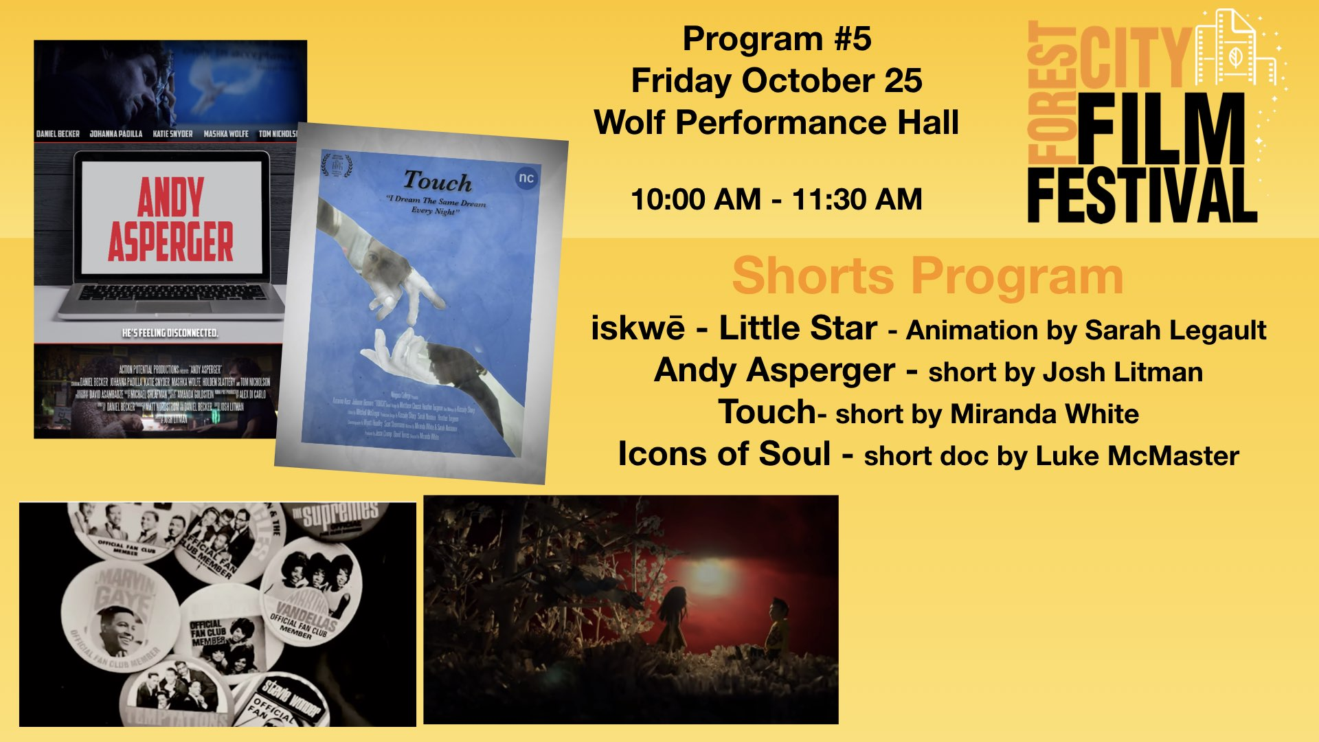FCFF 2019 - Friday Morning Shorts at Wolf Program #5