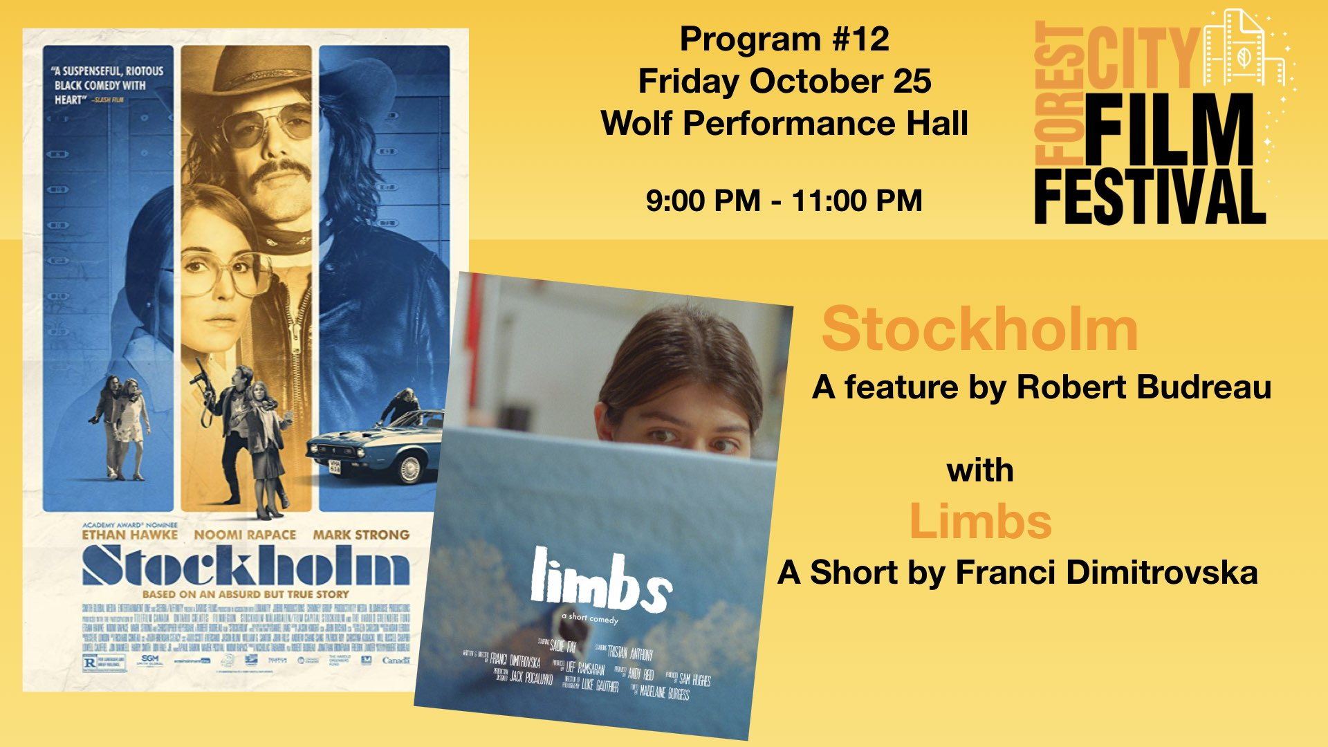 FCFF 2019 - Friday Night at Wolf Program #12 - Stockholm & Limbs