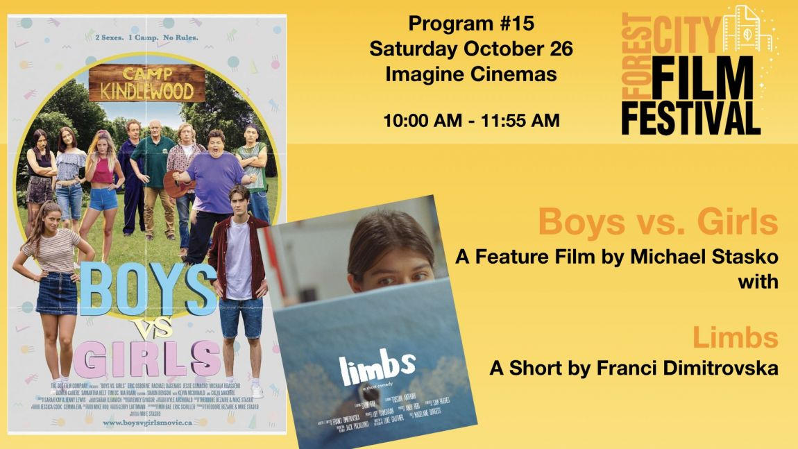 FCFF 2019 - Saturday Morning Imagine Program #15 - Boys vs Girls& Limbs