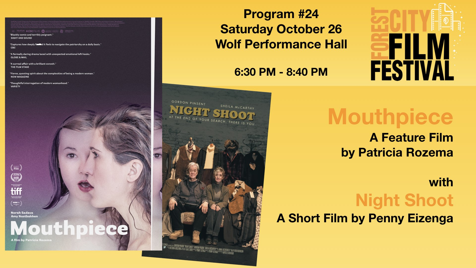 FCFF 2019 - Saturday night at Wolf Program #24 - Mouthpiece with Night Shoot