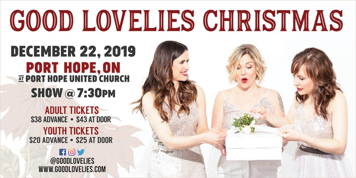 Good Lovelies Christmas Concert 2019