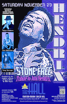 Stone Free Tribute to Jimi Hendrix