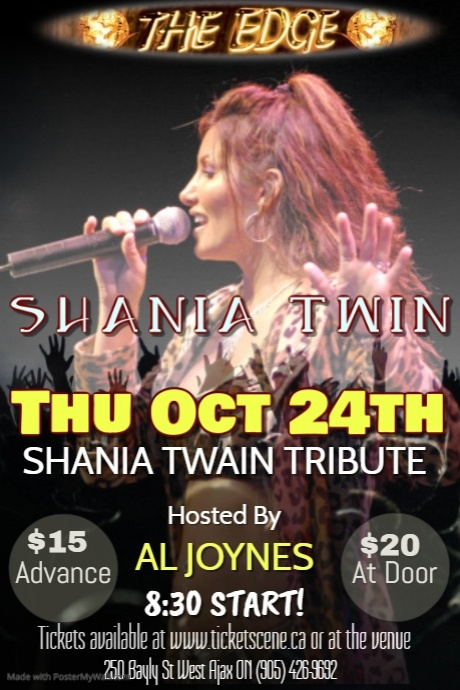 SHANIA TWIN (Shania Twain Tribute)