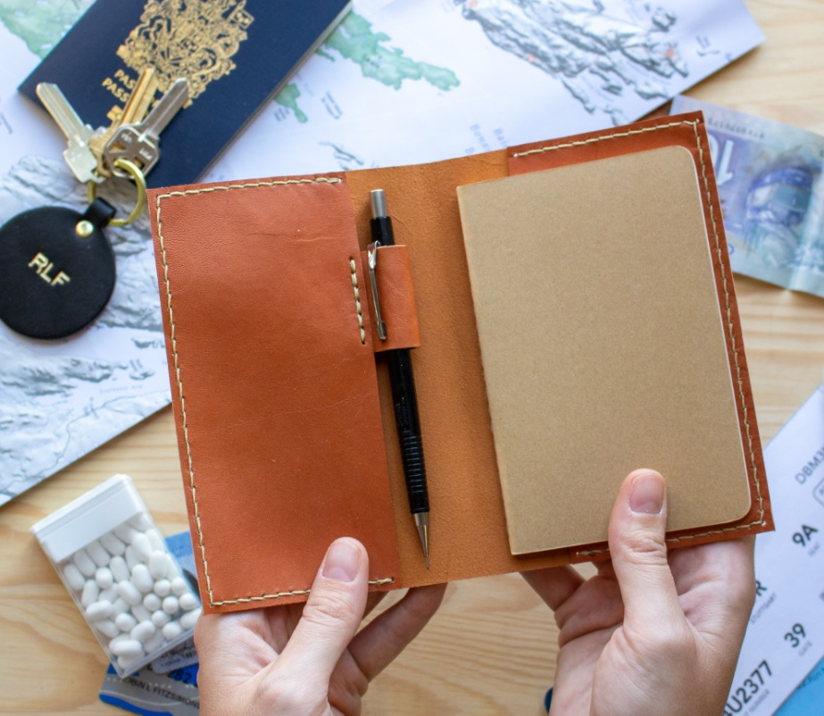 Indigo Presents: Leather Journal Cover Workshop