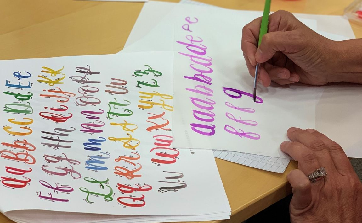 Indigo Presents: Introduction to Water Colour Calligraphy