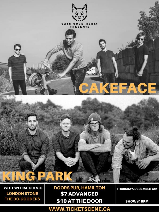 Cakeface w/ King Park & Friends