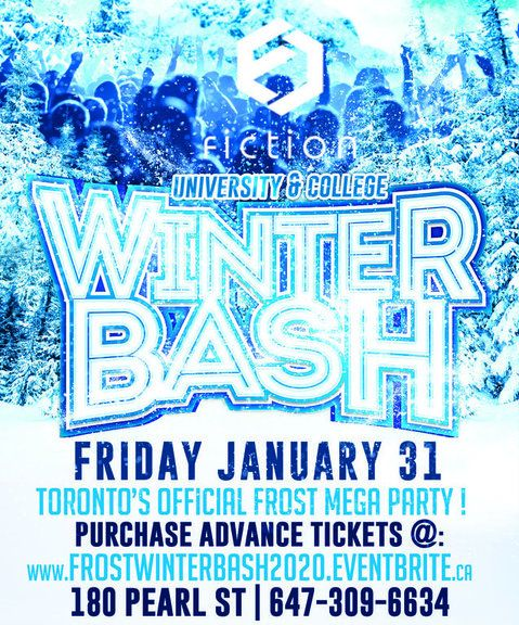 FROST WINTER BASH @ FICTION NIGHTCLUB | FRIDAY JAN 31ST