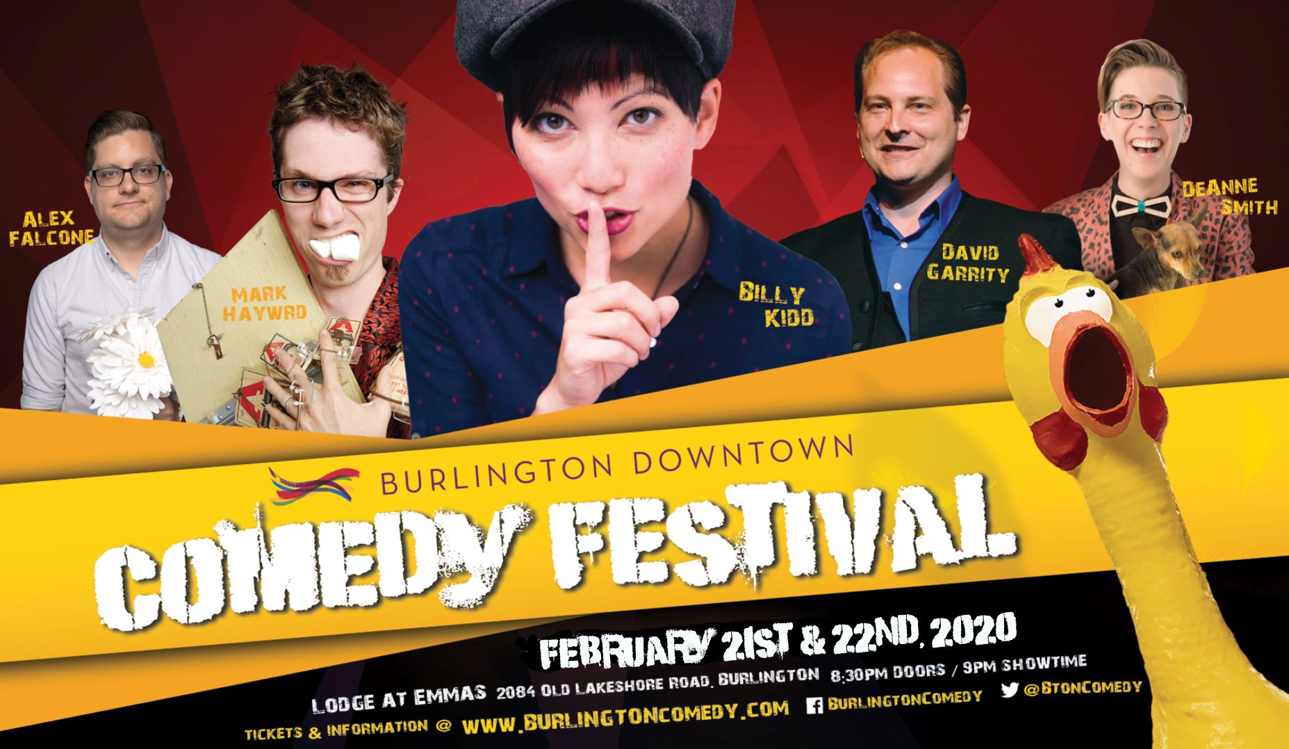 Comedy Cabaret featuring Billy Kidd