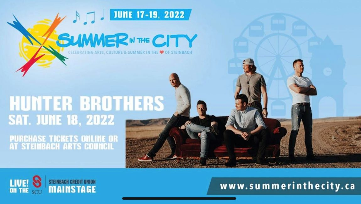 Hunter Brothers  - Steinbach Summer in the City 2021