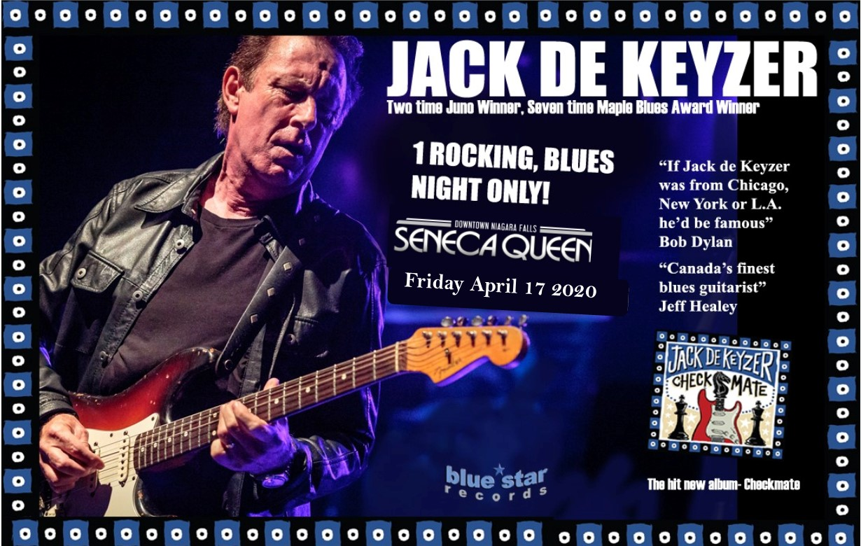 Jack de Keyzer Blues Rock + Soul!