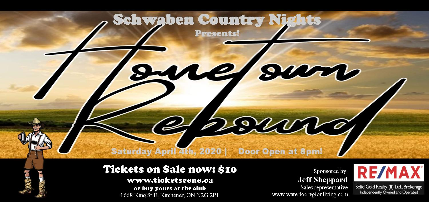 Schwaben Country Nights featuring Hometown Rebound