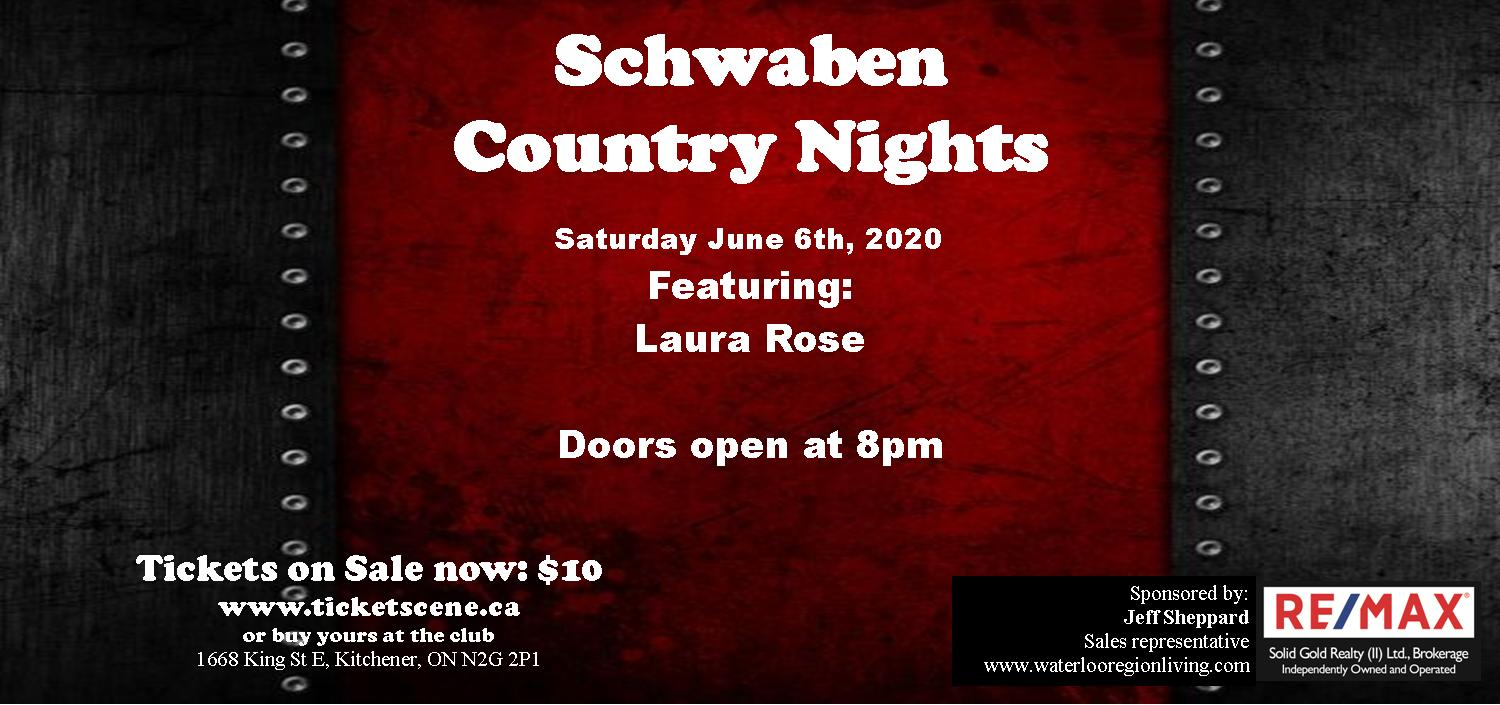 Schwaben Country Nights featuring Laura Rose