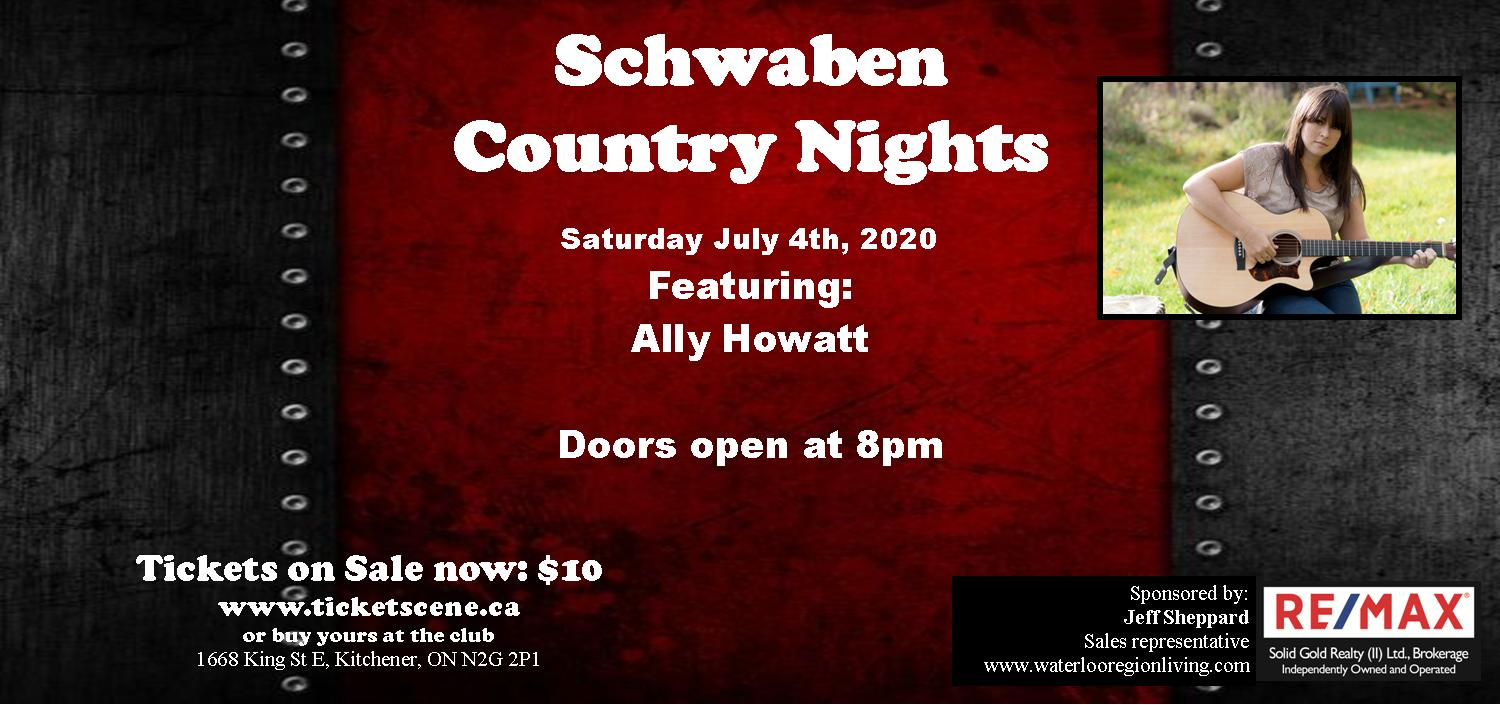 Schwaben Country Nights featuring Ally Howatt