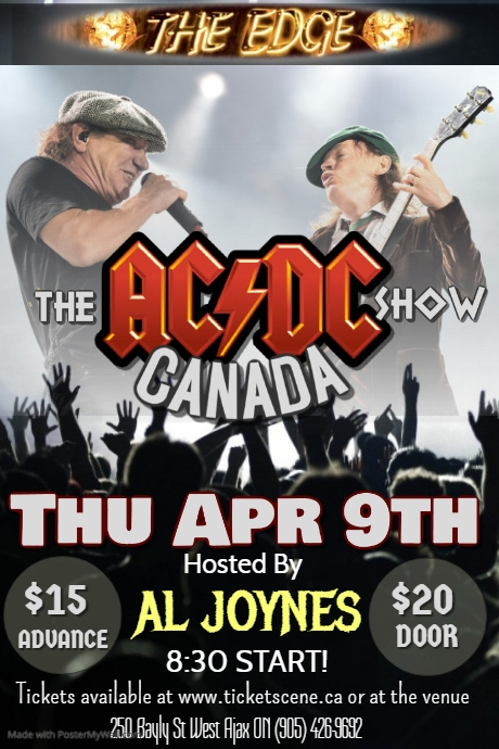 THE AC/DC SHOW CANADA (AC/DC Tribute)