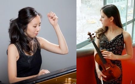 Our fine Concertmaster and her famed pianist in concert