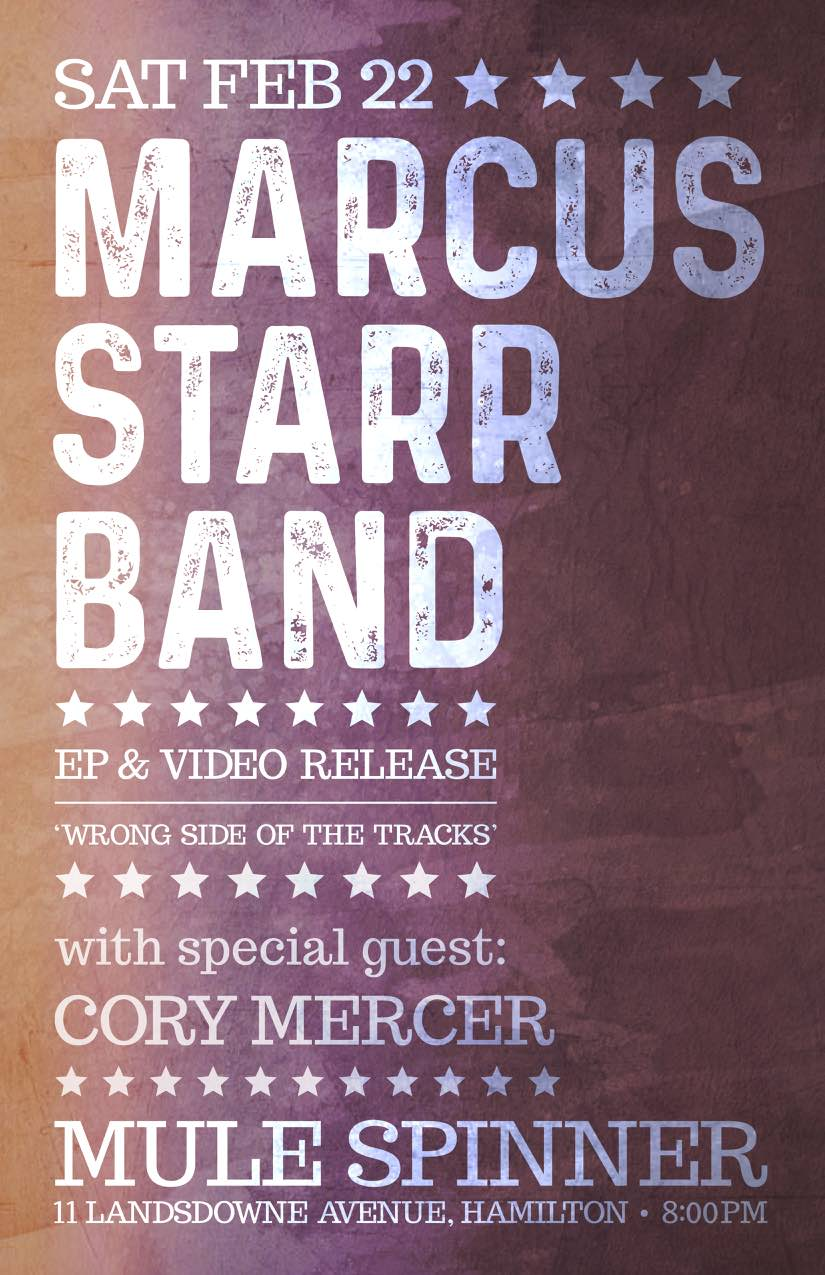 Marcus Starr Band | EP & Video Release Show