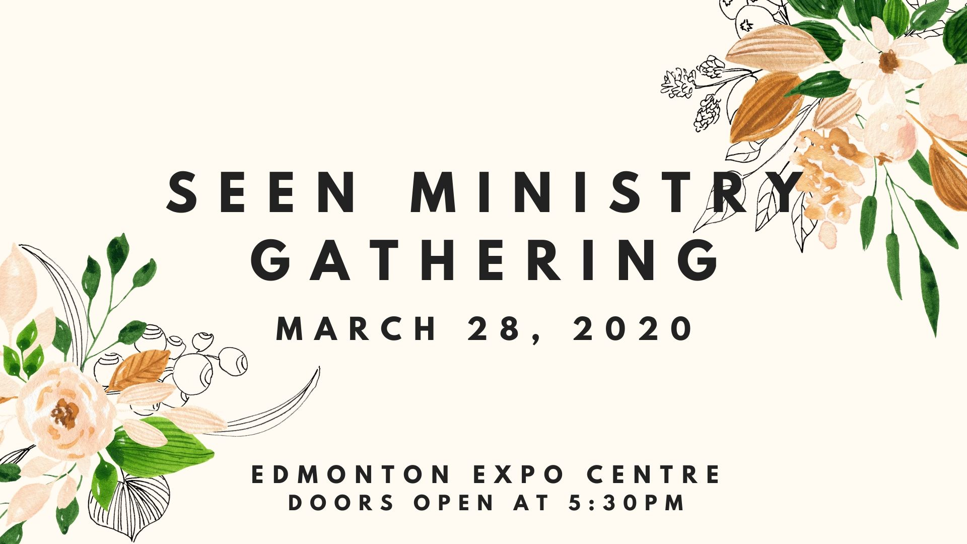 Seen Ministry Gathering March 2020