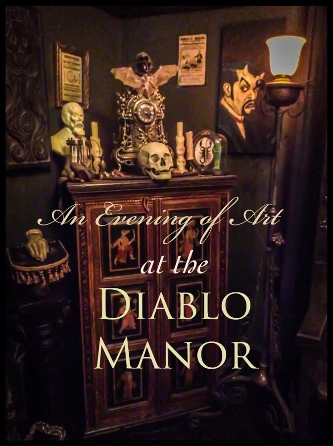 An Evening of Art at the Diablo Manor