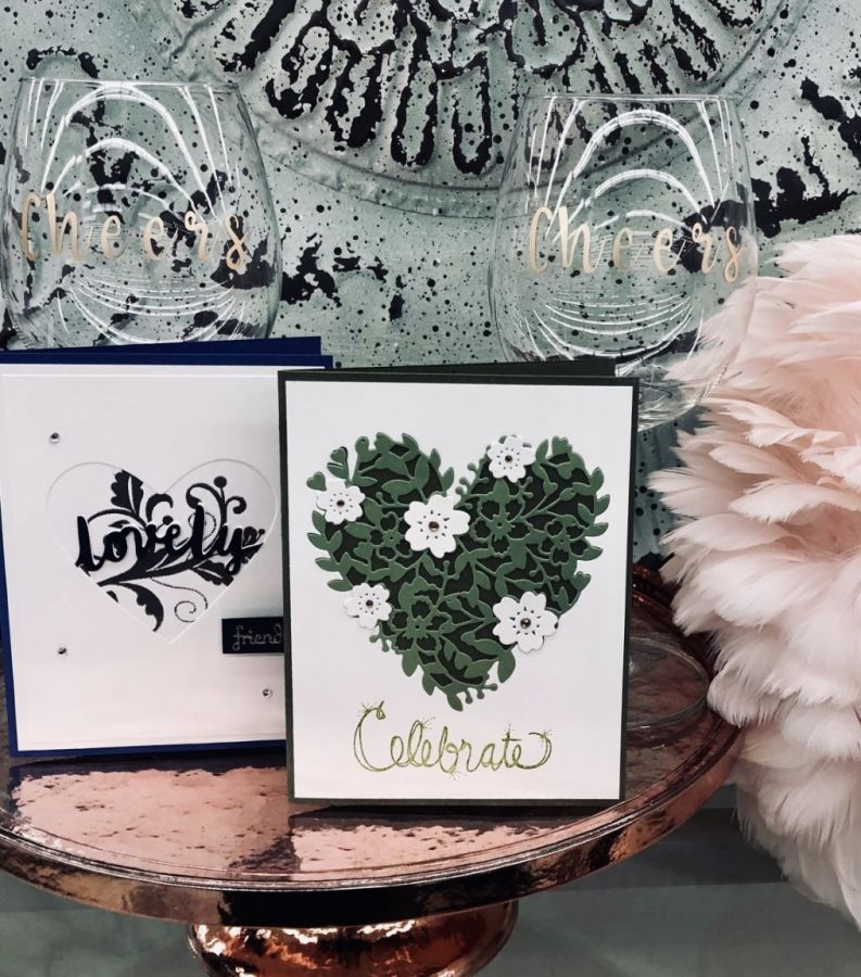 Indigo Presents: Card Making and Glassware