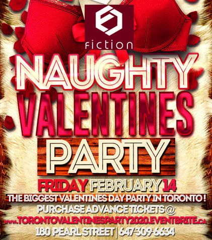 TORONTO VALENTINES PARTY 2020 @ FICTION NIGHTCLUB | FRIDAY FEB 14TH