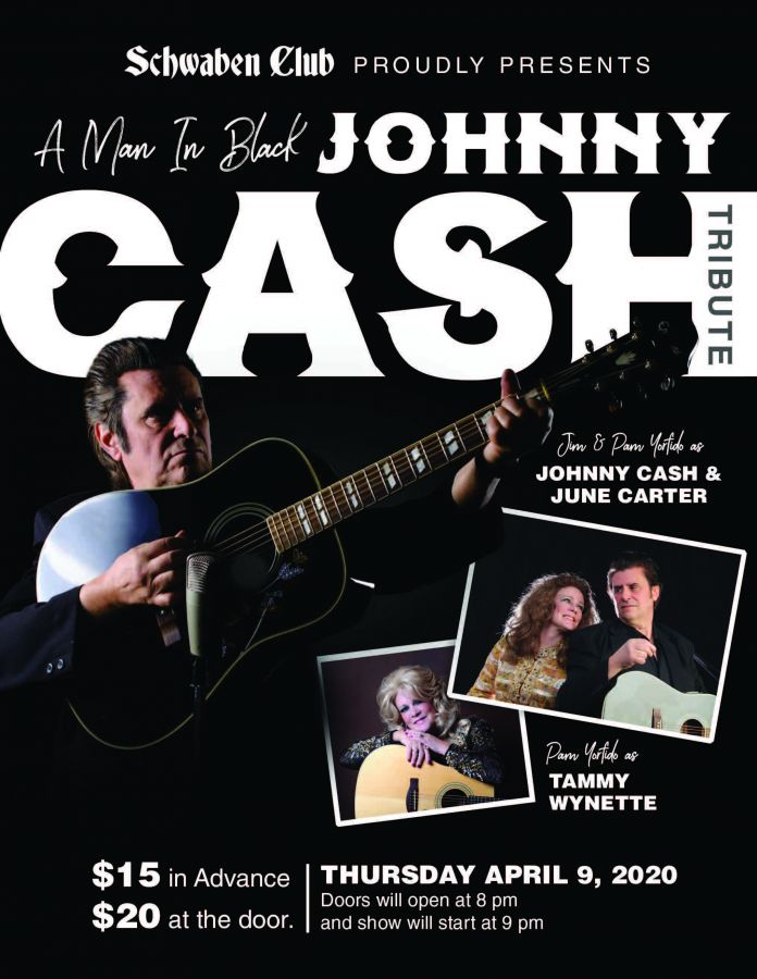 A Man In Black  Johnny Cash Tribute