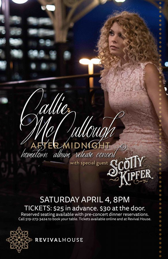 Callie McCullough  After Midnight Album Release Show