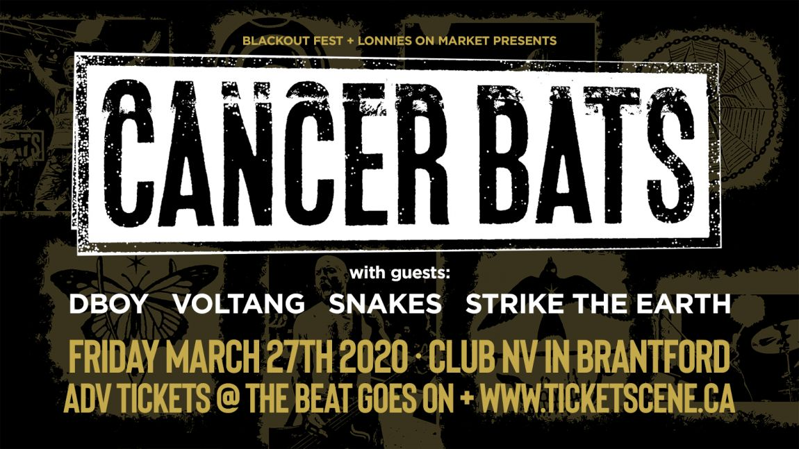 CANCER BATS in Brantford