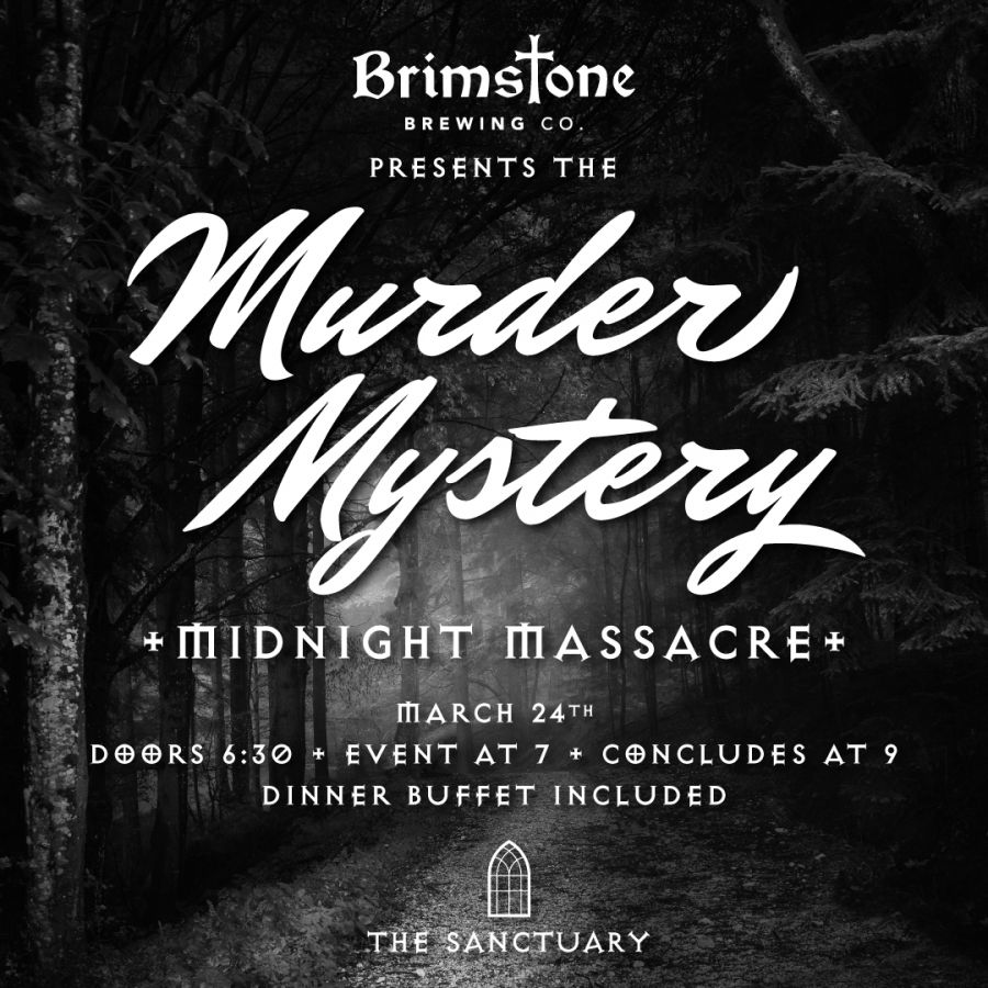Midnight Massacre - A Murder Mystery at Brimstone Brewing Company