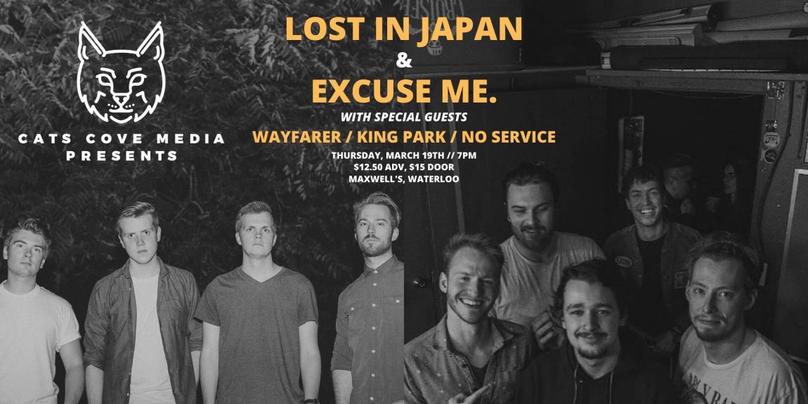 Excuse Me. w/ Lost In Japan