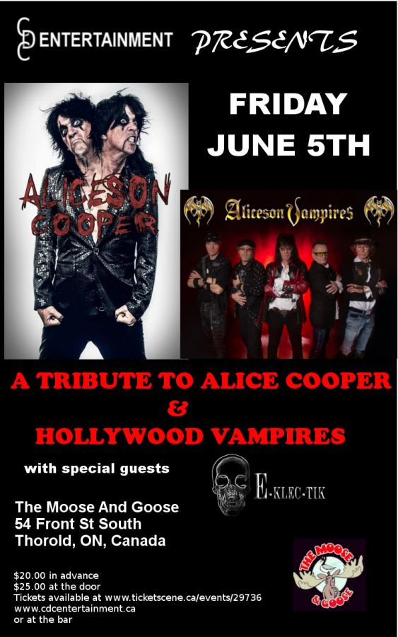 Tribute to Alice Cooper and Hollywood Vampires