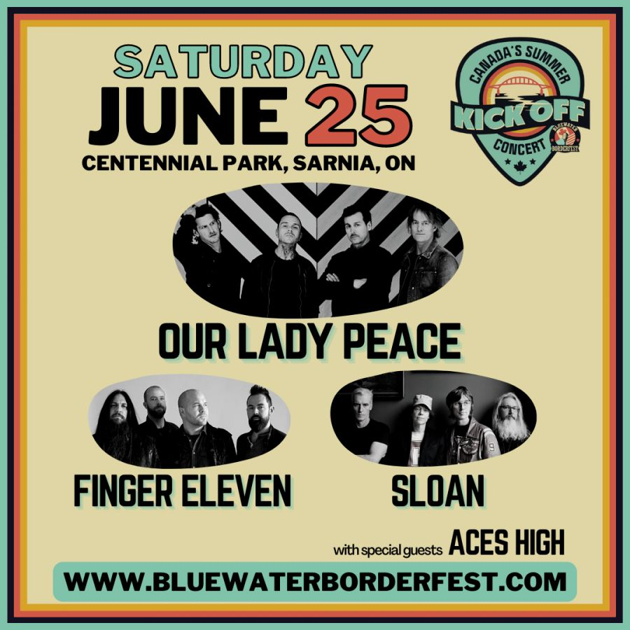 Sarnia Bluewater BorderFest 3 Night Full Event Pass - Thursday, June 24th, Friday, June 25th & Saturday, July 26th, 2021