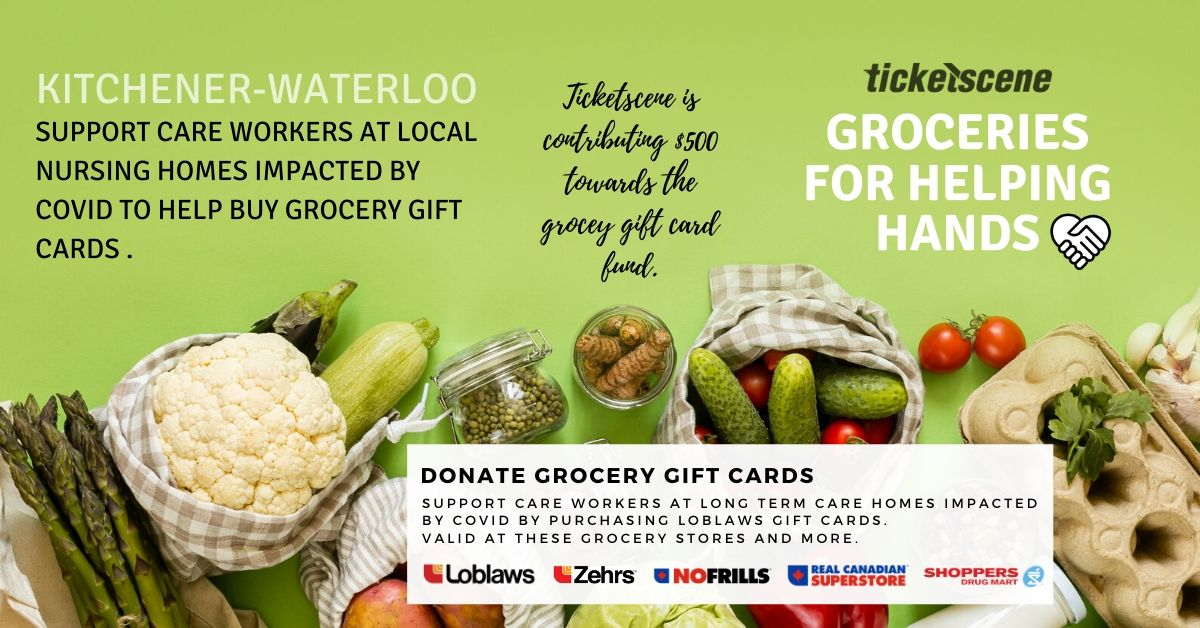 Groceries for Helping Hands (Support frontline workers at Long-Term Care Homes)