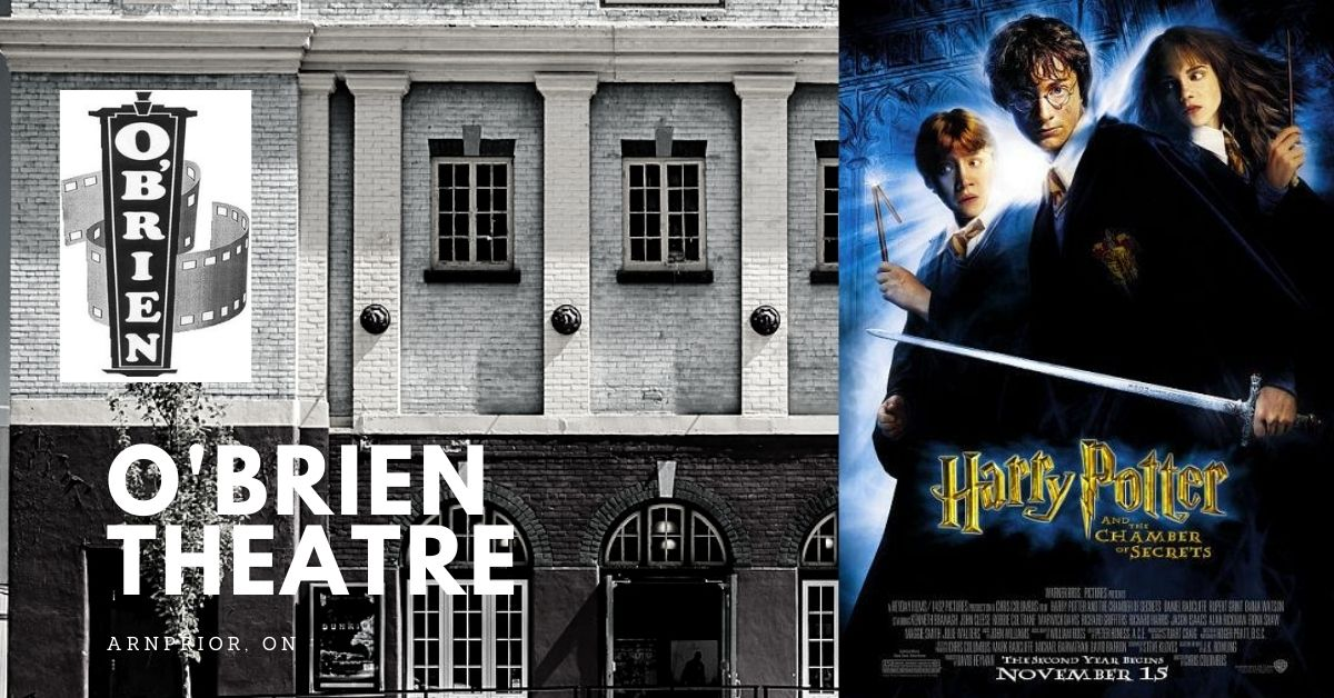 Harry Potter and the Chamber of Secrets (Matinee) @ O'Brien Theatre in Arnprior