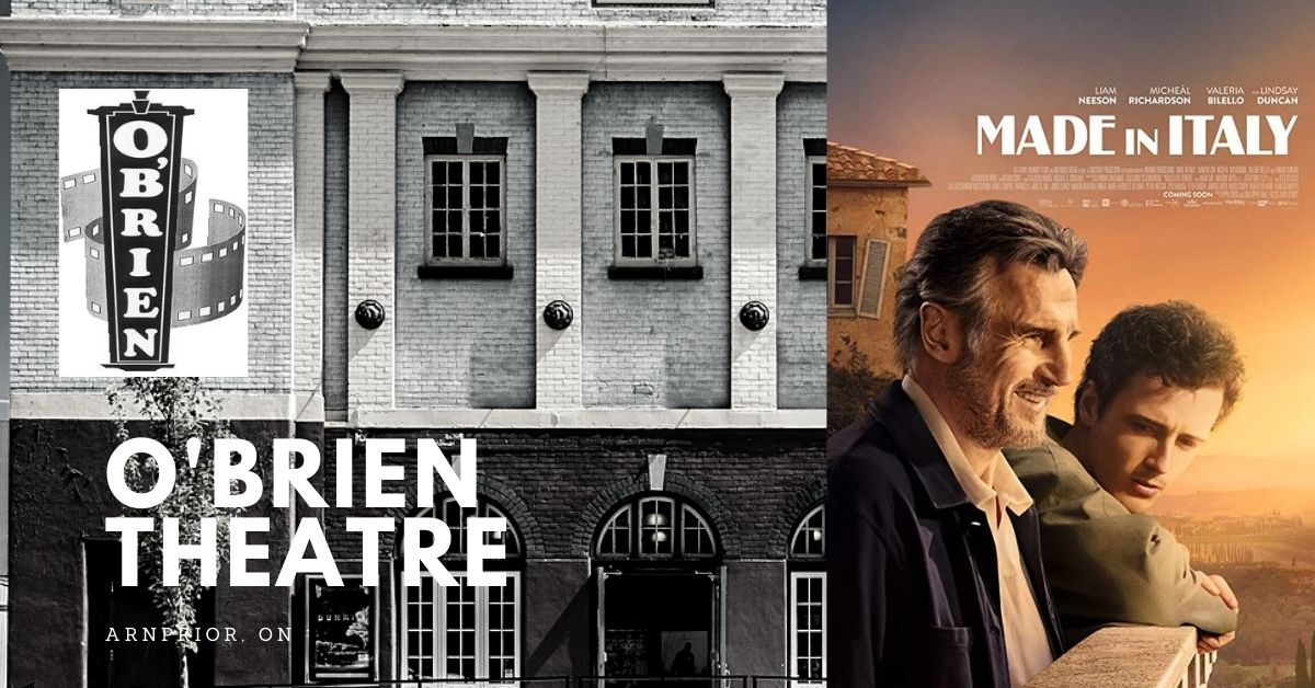 Made in Italy (Matinee) @ O'Brien Theatre in Arnprior