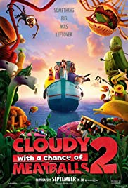 Cloudy with a Chance of Meatballs 2 (2013) Matinee 1:30  [Vintage Movie Price $7 all seats] @ O'Brien Theatre in Arnprior