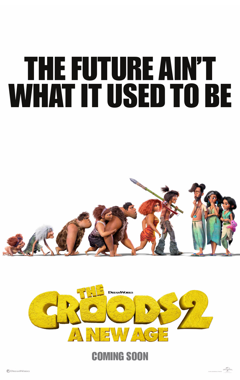 Croods: A New Age (2020) 1:30 P.M. Matinee @ O'Brien Theatre in Renfrew