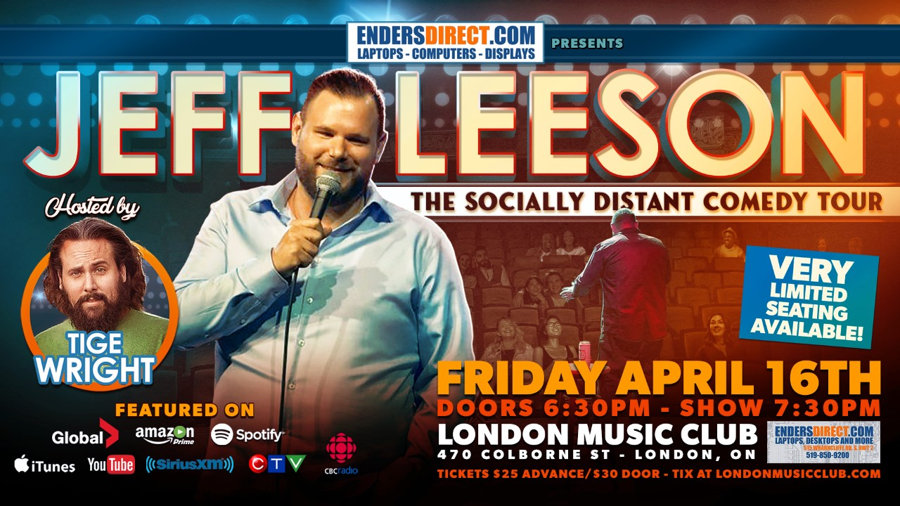 Jeff Leeson - The Socially Distant Comedy Tour