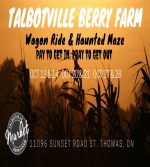 Talbotville Farm Wagon Ride & Haunted Corn Maze