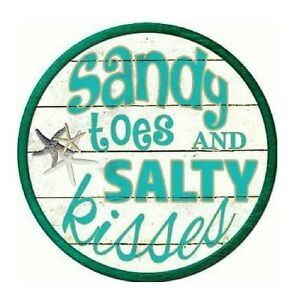 SANDY TOES AND SALTY KISSES